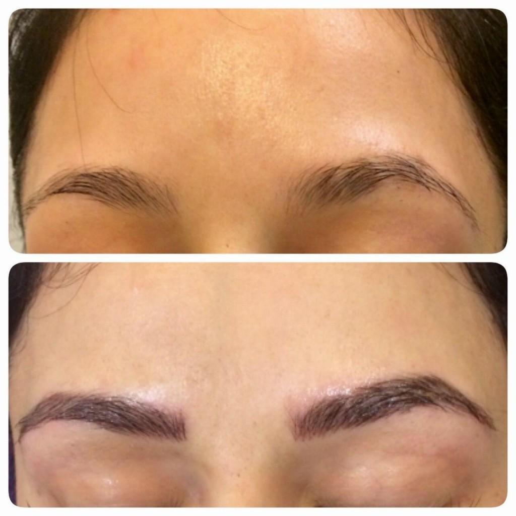 semi-permanent eyebrows san antonio